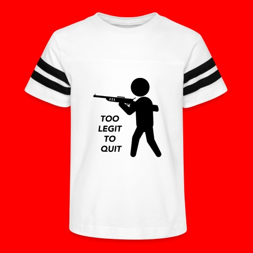 OxyGang: Too Legit To Quit Products - Kid's Vintage Sport T-Shirt