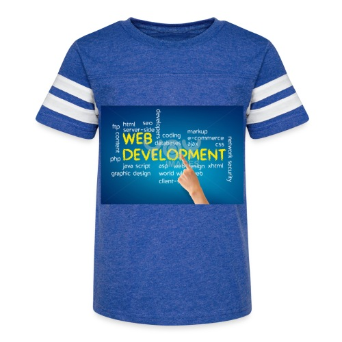 web development design - Kid's Vintage Sport T-Shirt
