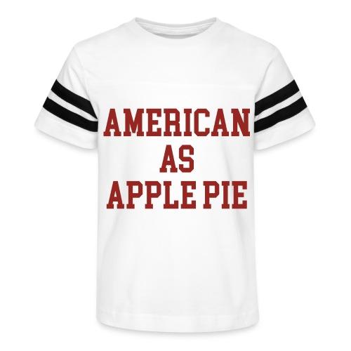 American as Apple Pie - Kid's Vintage Sports T-Shirt