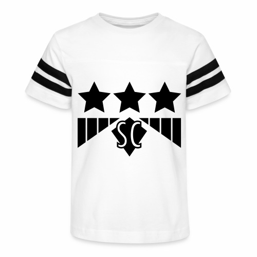 sciencefront3star - Kid's Vintage Sport T-Shirt