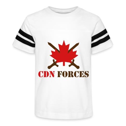 Canadian Forces Cross - Kid's Vintage Sport T-Shirt