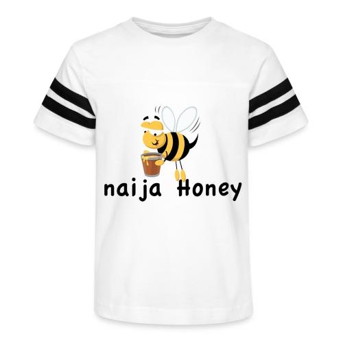 naija honey... - Kid's Vintage Sports T-Shirt