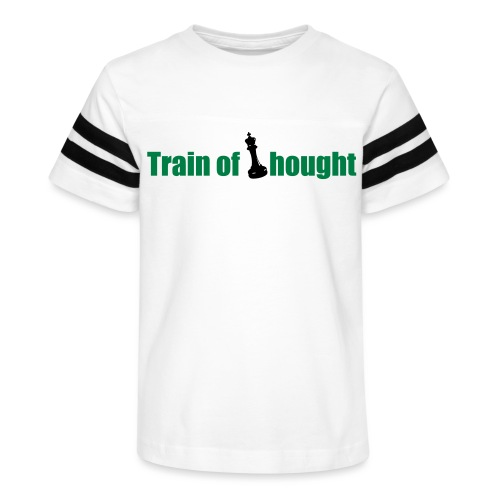Train of Thought - Kid's Vintage Sports T-Shirt