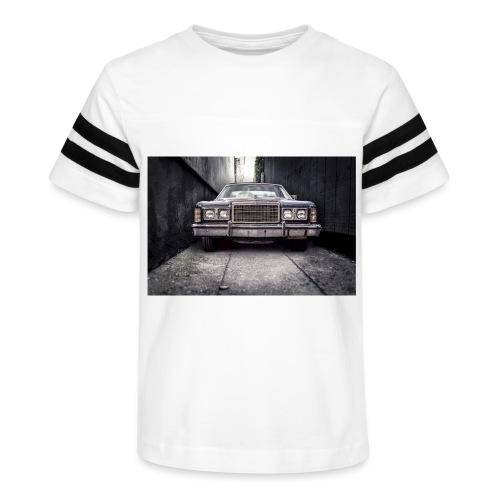 ford classic car automobile car 47358 jpg - Kid's Vintage Sport T-Shirt