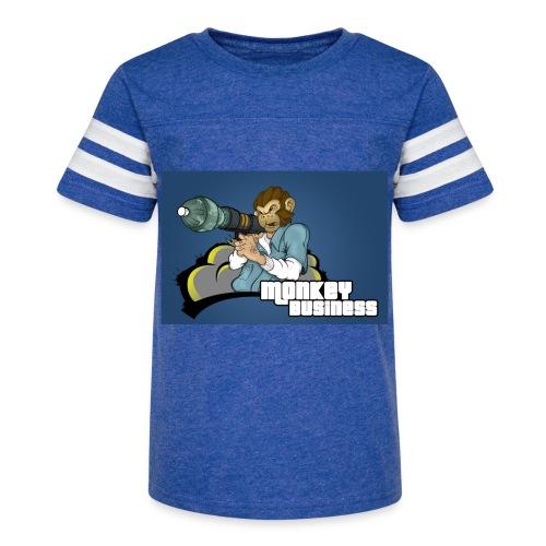 MonkeyBuisness - Kid's Vintage Sport T-Shirt