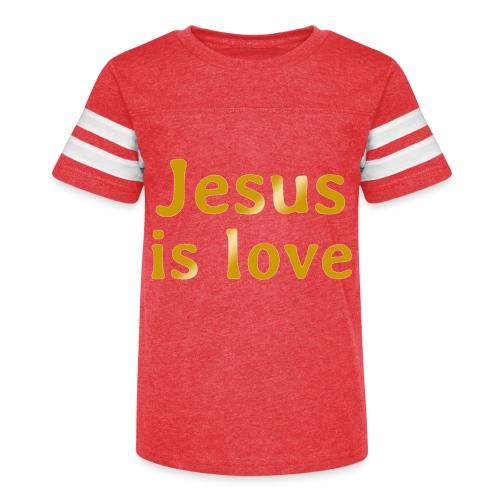Jesus is love - Kid's Vintage Sport T-Shirt