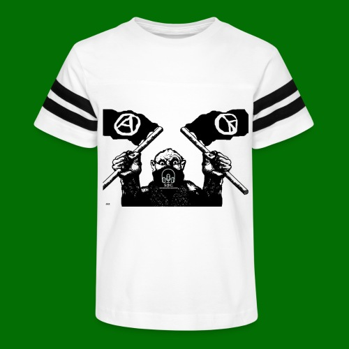 anarchy and peace - Kid's Vintage Sport T-Shirt