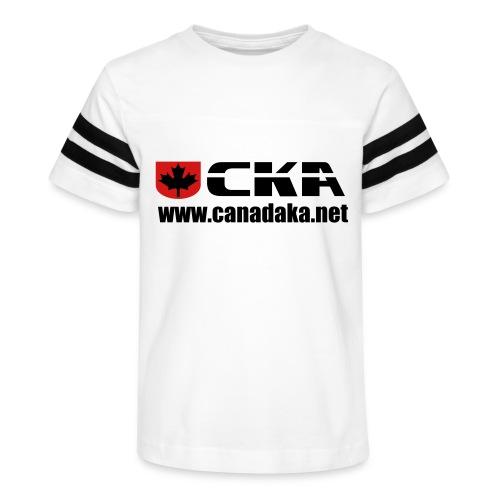 CKA Back 3 - Kid's Vintage Sport T-Shirt