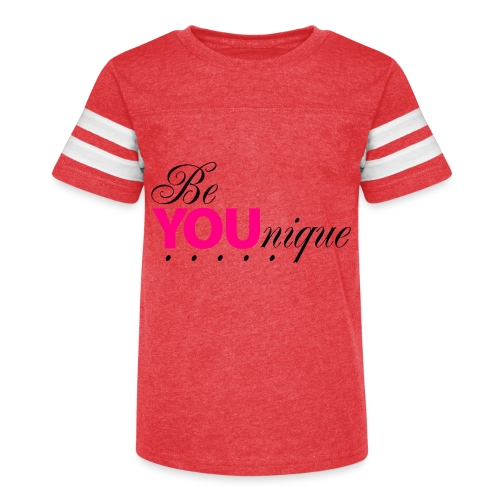 Be Unique Be You Just Be You - Kid's Vintage Sport T-Shirt