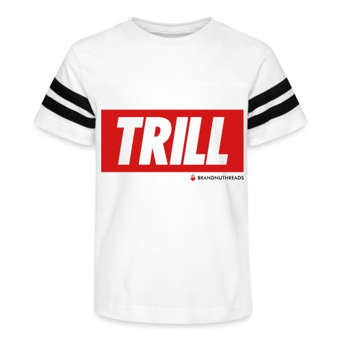 trill red iphone - Kid's Vintage Sport T-Shirt