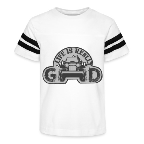Life Is Really Good Jeep - Kid's Vintage Sport T-Shirt