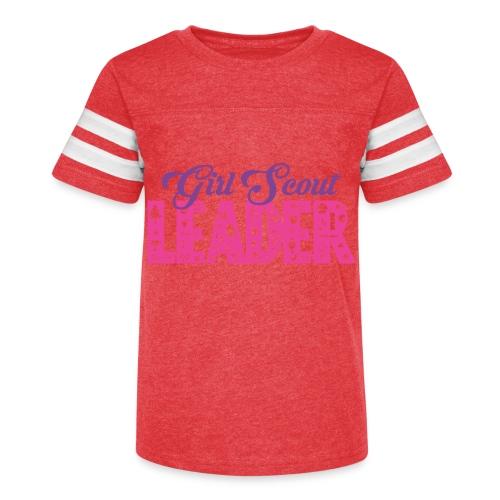Girl Scout Leader - Kid's Vintage Sport T-Shirt