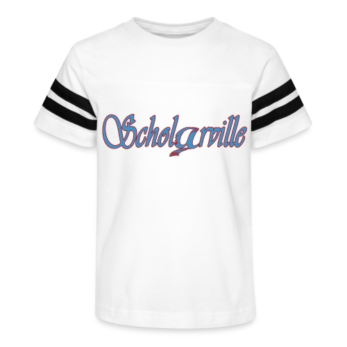 Welcome To Scholarville - Kid's Vintage Sport T-Shirt