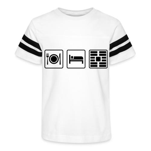 Eat Sleep Urb big fork - Kid's Vintage Sport T-Shirt