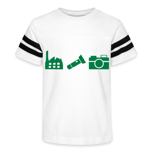 DCUE_Icons_Small - Kid's Vintage Sport T-Shirt