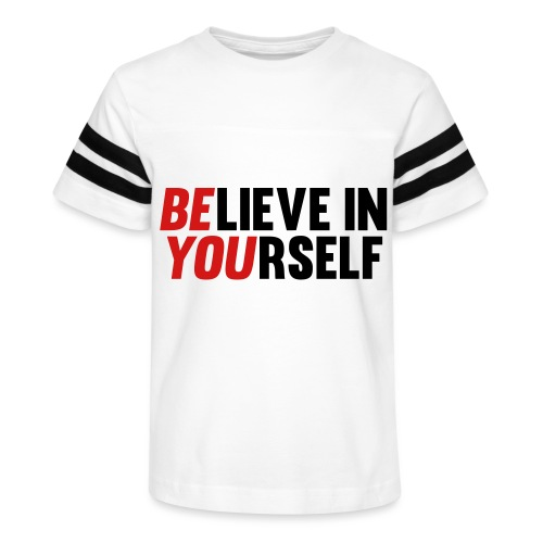 Believe in Yourself - Kid's Vintage Sports T-Shirt