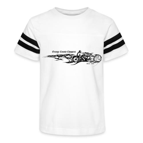 Sketch Rider Front - Kid's Vintage Sport T-Shirt