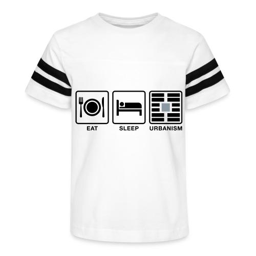 Eat Sleep Urb big fork-LG - Kid's Vintage Sport T-Shirt