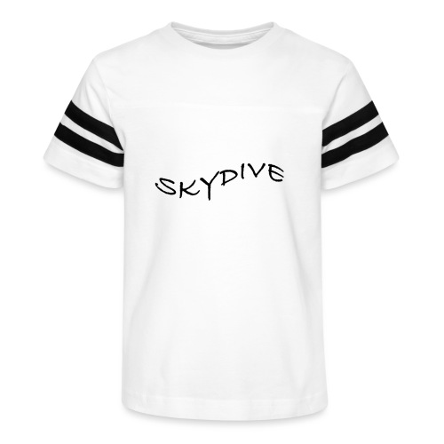 Skydive/BookSkydive/Perfect Gift - Kid's Vintage Sport T-Shirt