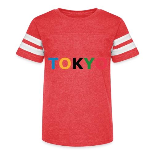Tokyo 2020 - Kid's Vintage Sport T-Shirt