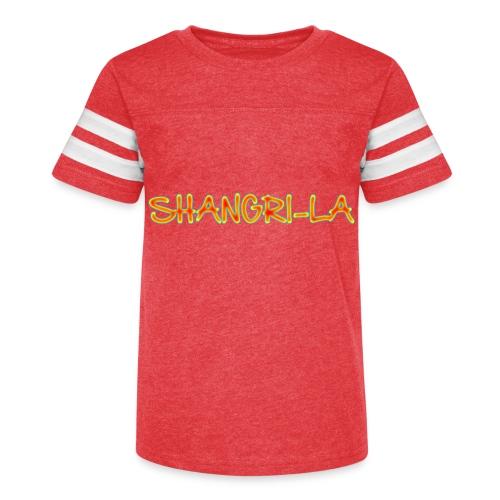 Shangri-La - Kid's Vintage Sport T-Shirt