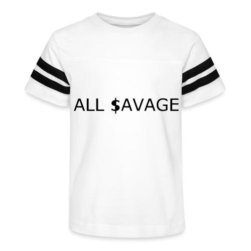 ALL $avage - Kid's Vintage Sport T-Shirt