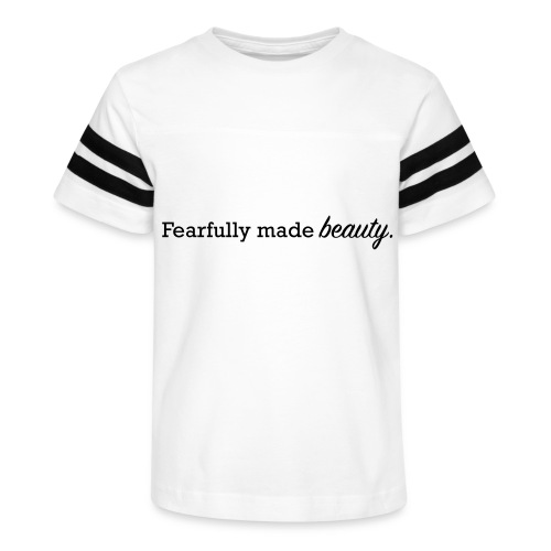 fearfully made beauty - Kid's Vintage Sport T-Shirt