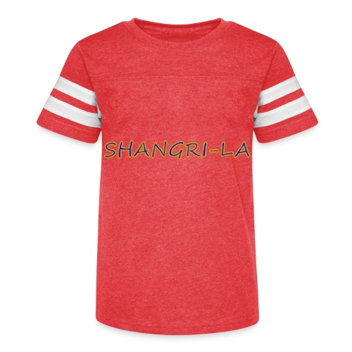 Shangri La gold blue - Kid's Vintage Sport T-Shirt