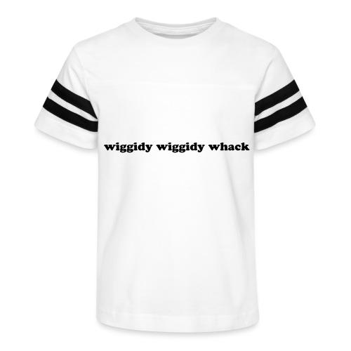 Wiggidy Whack - Kid's Vintage Sport T-Shirt