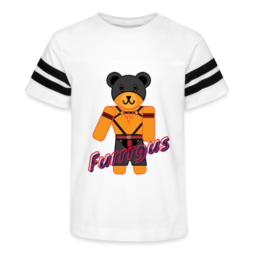 Leather Furrrgus - Kid's Vintage Sport T-Shirt