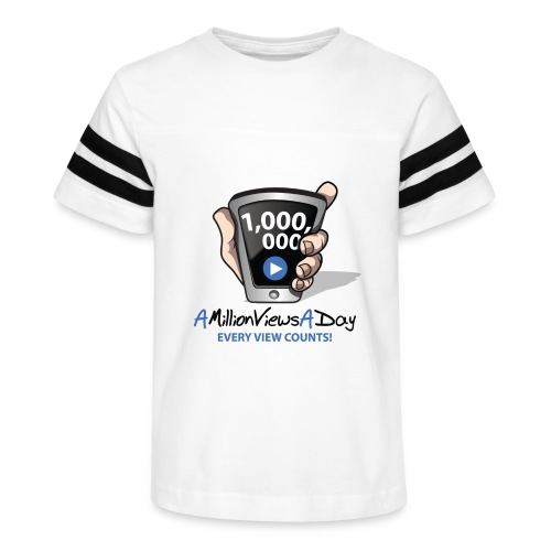 AMillionViewsADay - every view counts! - Kid's Vintage Sport T-Shirt