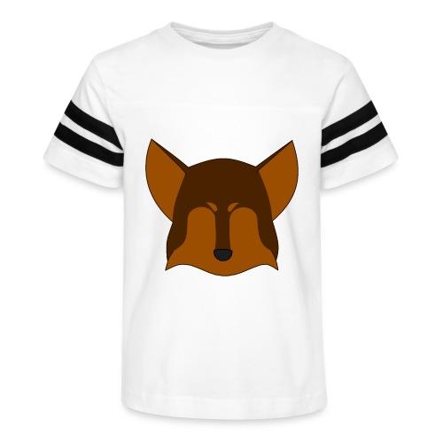 Simple Wolf Head - Kid's Vintage Sport T-Shirt
