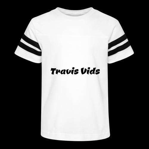White shirt - Kid's Vintage Sport T-Shirt
