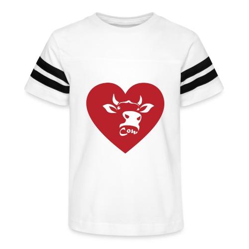 Cow Heart - Kid's Vintage Sport T-Shirt