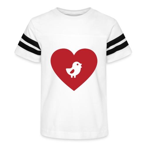 Heart Chick - Kid's Vintage Sport T-Shirt