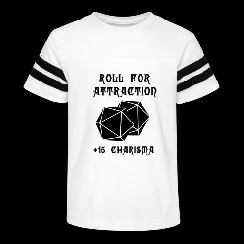 Roll for Attraction - Kid's Vintage Sport T-Shirt