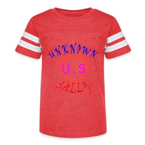 Initial Hoodie - Kid's Vintage Sport T-Shirt