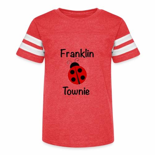 Franklin Townie Ladybug - Kid's Vintage Sport T-Shirt