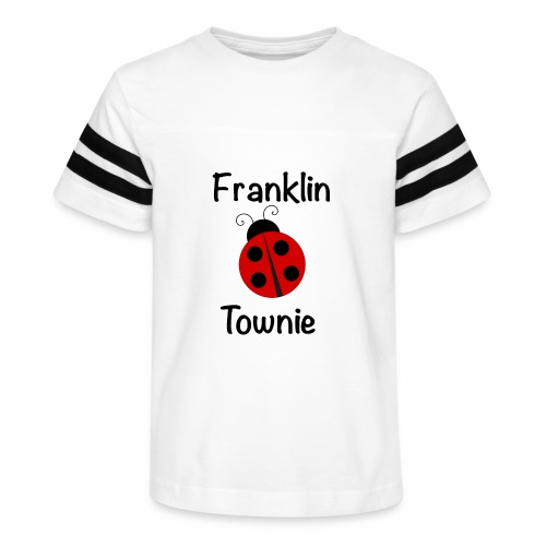 Franklin Townie Ladybug - Kid's Vintage Sport T-Shirt