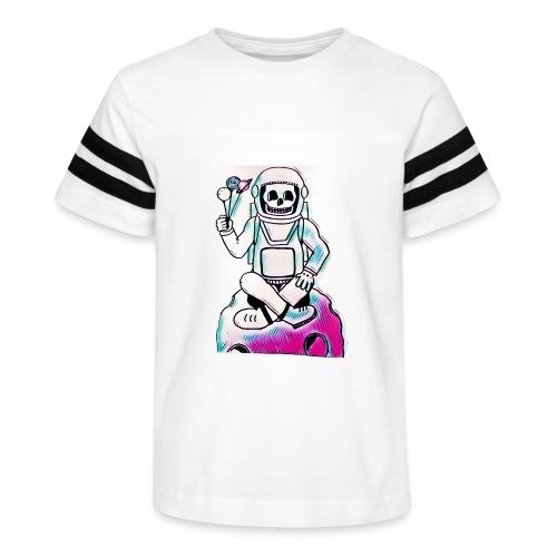 Astro Skull - Kid's Vintage Sport T-Shirt