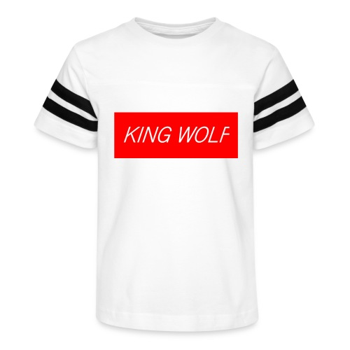 KING WOLF - Kid's Vintage Sport T-Shirt