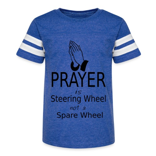 Prayer - Kid's Vintage Sport T-Shirt