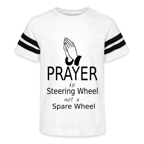 Prayer - Kid's Vintage Sport T-Shirt
