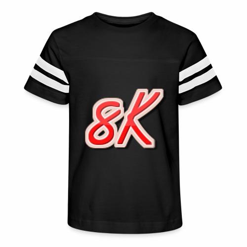 8K - Kid's Vintage Sport T-Shirt