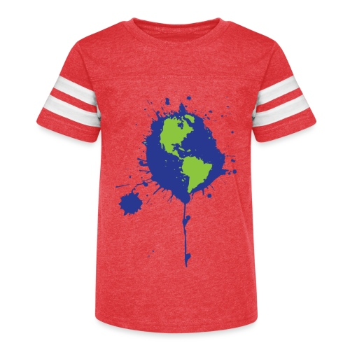 Art Changes the World - Kid's Vintage Sport T-Shirt