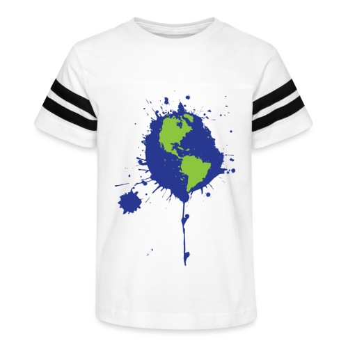 Art Changes the World - Kid's Vintage Sport T-Shirt