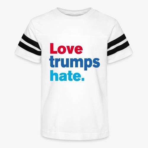 Love Trumps Hate - Kid's Vintage Sport T-Shirt