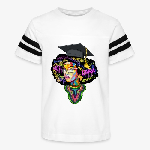 Smart Black Woman - Kid's Vintage Sport T-Shirt