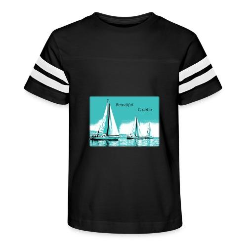 Beautiful Croatia - Kid's Vintage Sport T-Shirt
