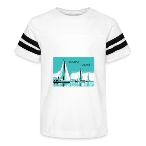 Beautiful Croatia - Kid's Vintage Sport T-Shirt